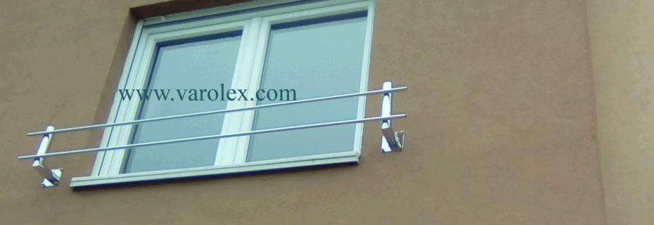 inox francuski balkon
